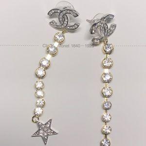 Chanel crystal fashion jewelry earrings